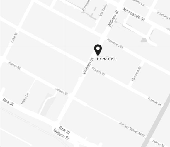 HYPNOTISE Store Map