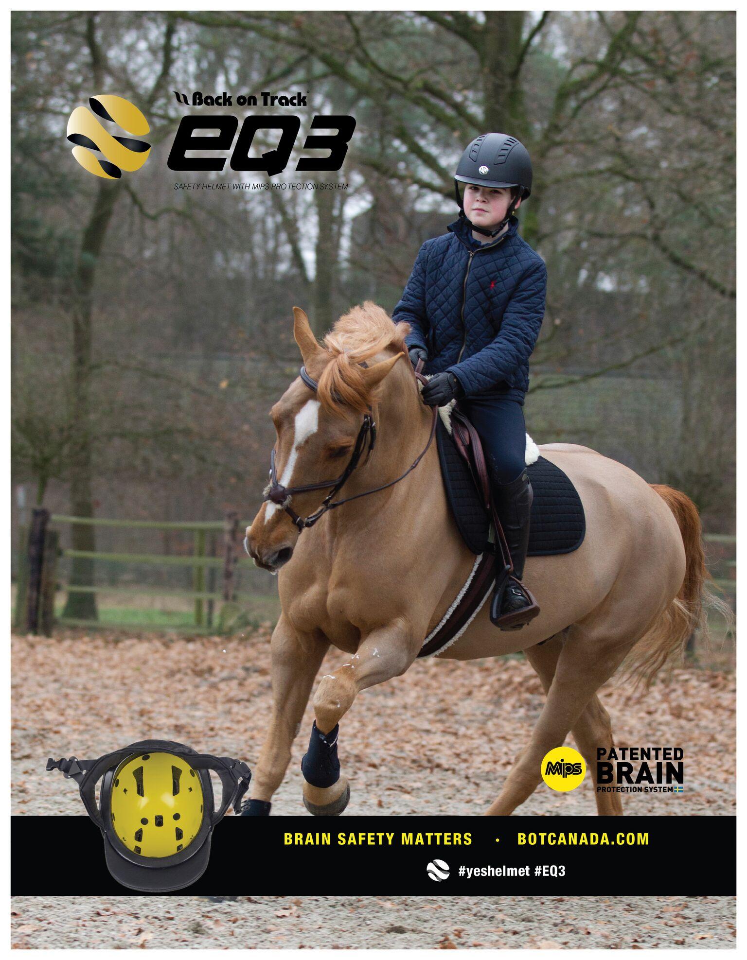 Back on Track EQ3 Helmet
