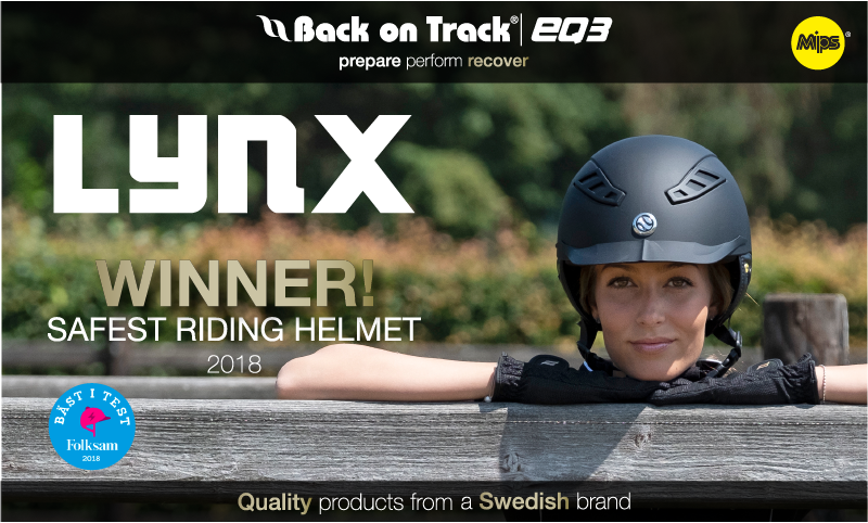 Back on Track Lynx Helmet
