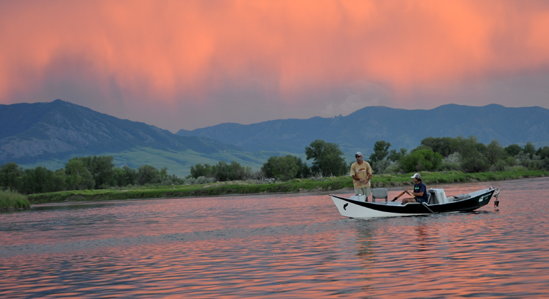 Missouri River Drift Boat Rentals